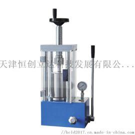 恒创立达12吨电动等静压压片机