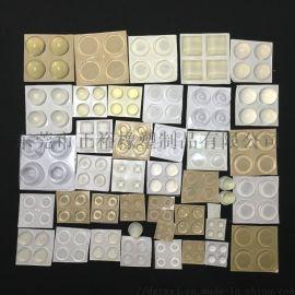 自粘硅胶防滑墊 透明防滑胶粒 3M防撞胶粒生产厂家