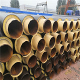 甘肅 鑫龍日升 高密度聚乙烯保溫管DN800/820供熱黃夾克聚氨酯直埋保溫管