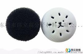 厂家直销小章鱼洗脸刷内芯海绵球/洁面刷/海绵起泡球