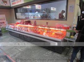 四川订购鲜肉保鲜柜多少钱哪家**