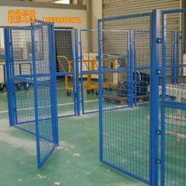 安晶丝网专业仓库隔离栅,车间隔离栅