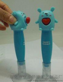 SSF-04兔子,心跳笔,吸盘笔,圆珠笔