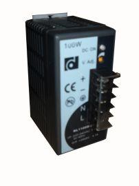 昂鼎原装NL1100D-24导轨电源24V4.2A100W开关电源