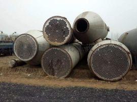 25吨四效蒸发器,8平方刮板薄膜蒸发器