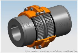 鼓形齿式联轴器GIICL型齿式联轴器-万达专业