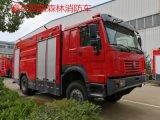 重汽豪沃四驅森林消防車|森林消防車廠家