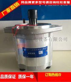 合肥长源液压齿轮泵叉车 齿轮泵 CBF-F432-ALH长L 长轴 6花键 左旋 现代