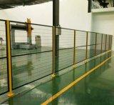 工厂仓库临时隔离网 设备围网 移动车间隔离网 金属隔离网 山东车间隔离网厂家