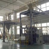 真空除尘全自动配料高速混合机组 计量称重配料系统