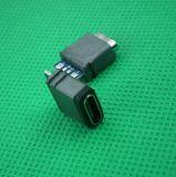 厂价直销USB充电接口TypeC焊线式手机母座医疗器材防水母座连接器