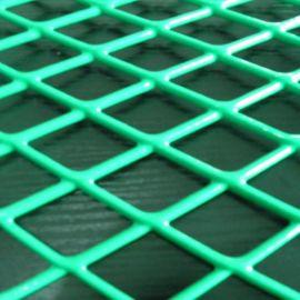 不锈钢拉伸网 压平钢板网 喷塑钢板网