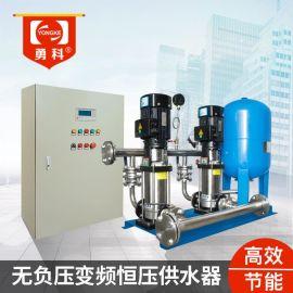 不锈钢恒压变频水泵 智能变频节能增压机组
