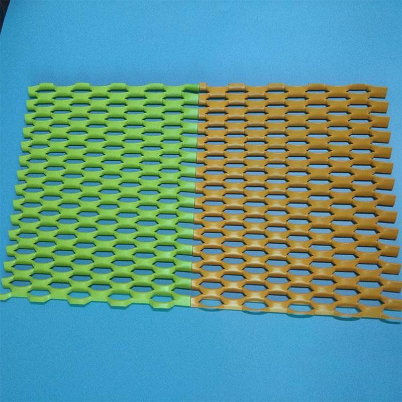 喷塑铝板网 阳极氧化铝板网 吊顶铝板网
