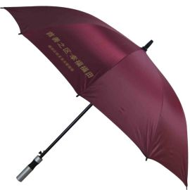 23英寸电着槽骨加固直杆伞