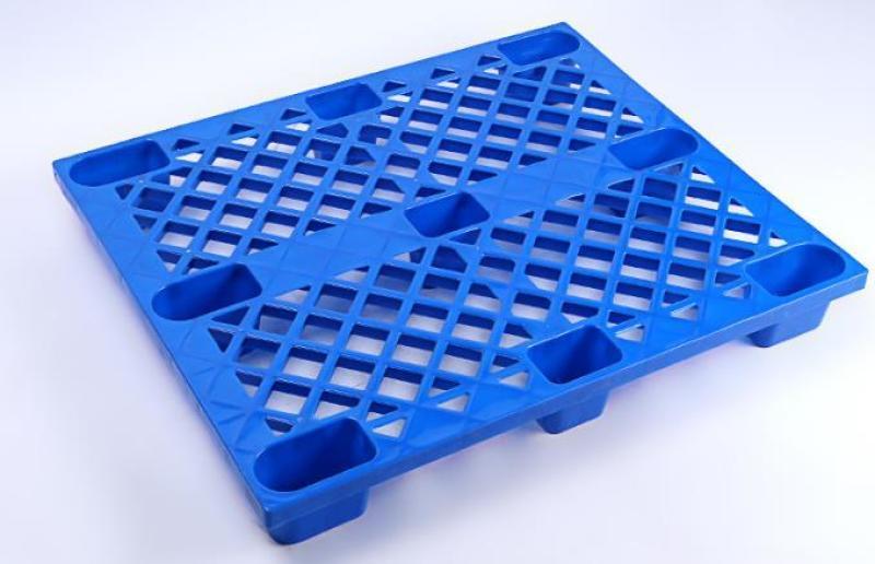 六盤水麪粉托盤,九腳網格棧板塑料棧板托盤1010