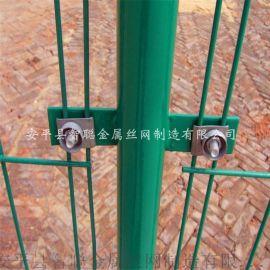 双边丝护栏网 双边丝公路护栏网 浸塑双边丝护栏网