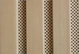 生态木吸音板,防火防潮环保吸音材料