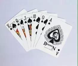 黑芯纸扑克牌(蜜蜂)