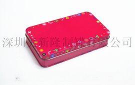 铁盒 铁罐 礼品罐 文具盒 手表盒 化妆盒 手挽罐 储物罐、玩具罐、扑克盒、