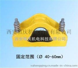 恒庆FJGP-1三芯复合材料电缆夹具非磁性电缆固定夹