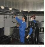 成都专业清洗学校酒店单位食堂大型油烟机