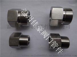 精品不锈钢1/4NPT-G1/2,M20*1.5-3/8NPT变送器接头,气源转换接头,内外丝压力表接头