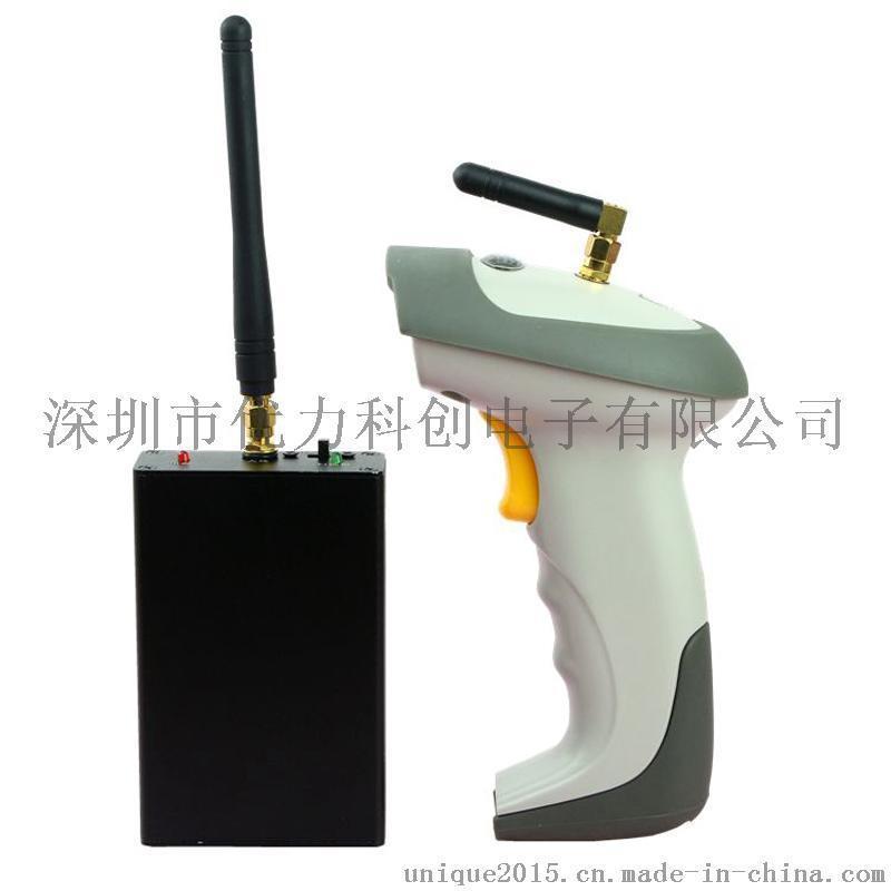 PT980远距离穿墙无线激光条码扫描枪快递超市物流条码手持扫描器