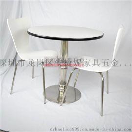 工厂直销肯德基快餐桌椅快餐小吃店餐桌餐椅组合四人快餐桌椅分体