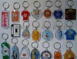 深圳亞克力鑰匙扣批發便宜透明塑料鑰匙扣價格