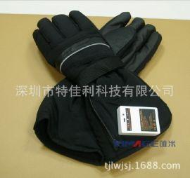 唯米秋冬季發熱手套防水防寒,冬季戶外電加溫手套 鋰電池保暖手套  保暖保健