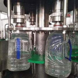 全自动灌装机 2-5升纯净水冲洗灌装封口三合一体机