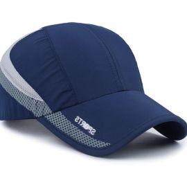 夏季男士帽子韩版棒球帽太阳帽潮鸭舌帽夏天速干户外防晒遮阳帽男