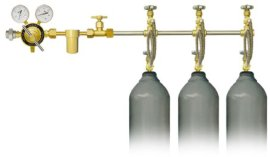 单侧式气体汇流排(8100系列)