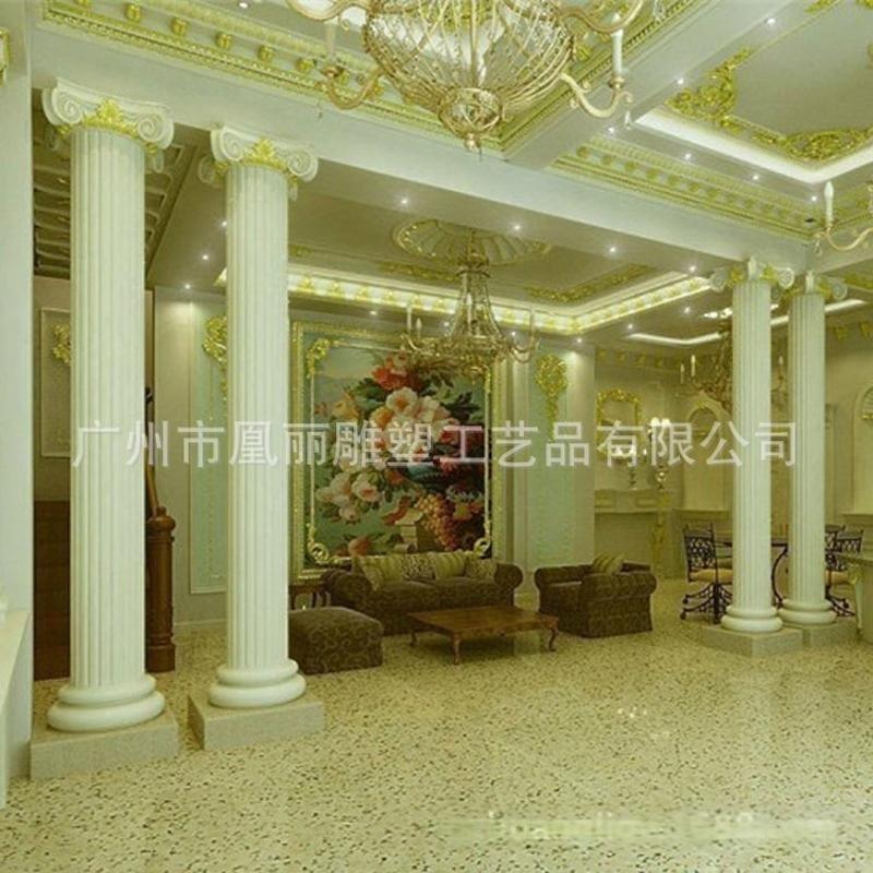 玻璃纖維,玻璃鋼裝飾羅馬柱室內外室內裝飾店舖