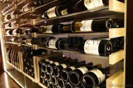穆迪酒窖 定制不锈钢酒窖 不锈钢酒架 新型酒窖