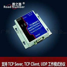 数之路TU8002 RS232转TCPIP串口转以太网