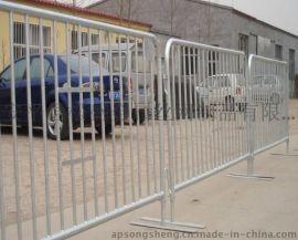 包头镀锌方管焊接临时护栏网、移动式安全围栏、临时护栏网、专业生产