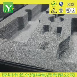 EVA泡棉内衬 化妆品包装盒防震垫 白色EVA内托加工定制