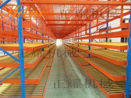 正耀公司为日本TAKATA汽车部件公司定做的流利式货架交付使用