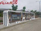 不锈钢公交候车亭灯箱不锈钢公交车站台滚动灯箱厂家