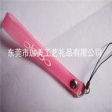 广告硅胶手机挂绳  电压PVC手机绳  塑胶手机绳