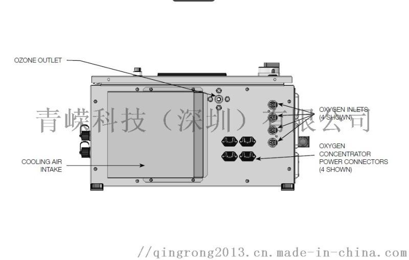 美国DEL臭氧发生器P-100/200,水处理设备