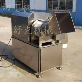 大型冻肉切丁机冻牛肉三维切丁
