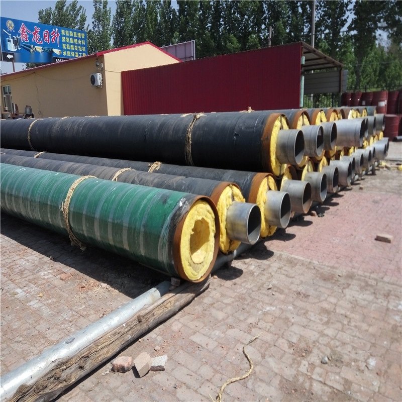 湛江 鑫龍日升 冷熱水輸送管線 無縫預製保溫鋼管