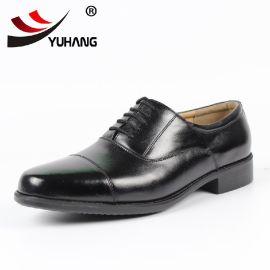 **三接头07a式士官皮鞋军官07b三节头三尖头男军鞋质量保证