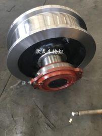 欧式成套驱动厂家 直径200主动车轮组 欧式行车轮 欧式车轮组型号 欧式车轮组批发