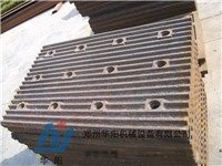 PE600x900颚式破碎机高锰钢鄂板配件