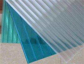 河北阳光板厂家现货供应防雾滴中空阳光板、耐力板、PC采光瓦及配件
