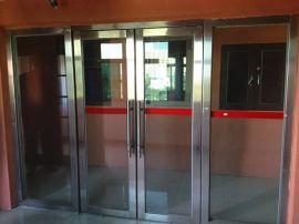 甲级防火玻璃门厂家 不锈钢防火玻璃门报价 维修防火玻璃门